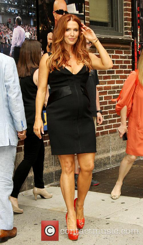 Poppy Montgomery, Ed Sullivan Theater, The Late Show