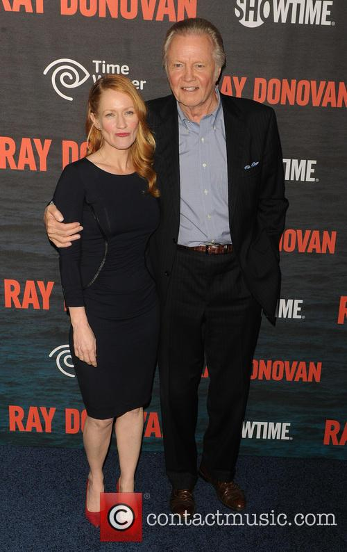 Jon Voight and Paula Malcomson 2