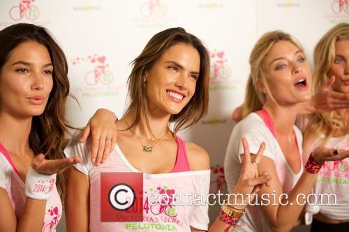 Lily Aldridge, Alessandra Ambrosio, Martha Hunt, Victoria's Secret