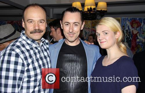 Danny Burstein, Alan Cumming and Gayle Rankin 3