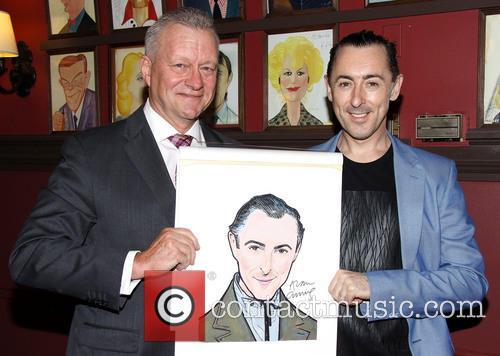 Alan Cumming Receives Sardi's Portrait
