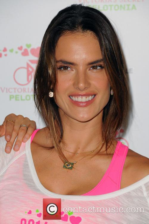 Alessandra Ambrosio, Soul Cycle in West Village, Victoria's Secret