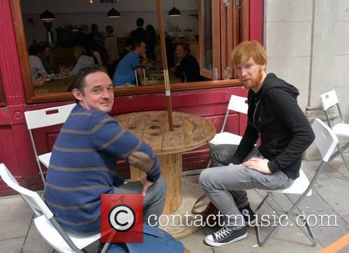 Hugh O'connor and Domhnall Gleeson 2