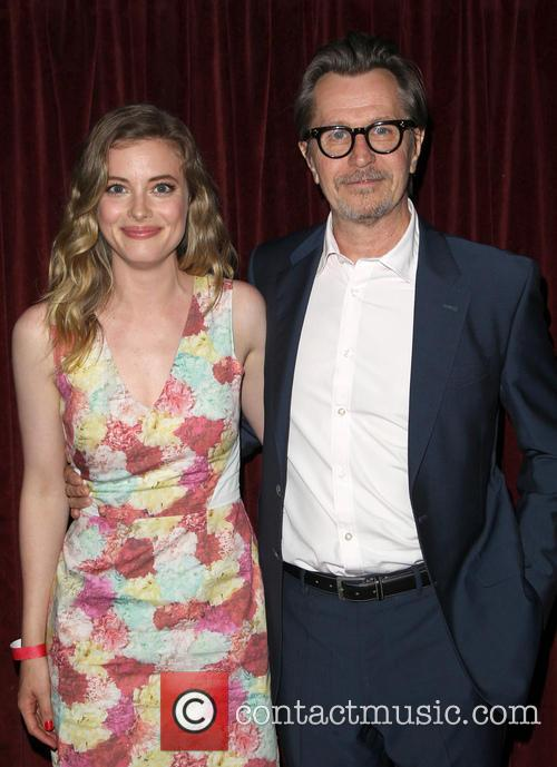 Gillian Jacobs and Gary Oldman 8