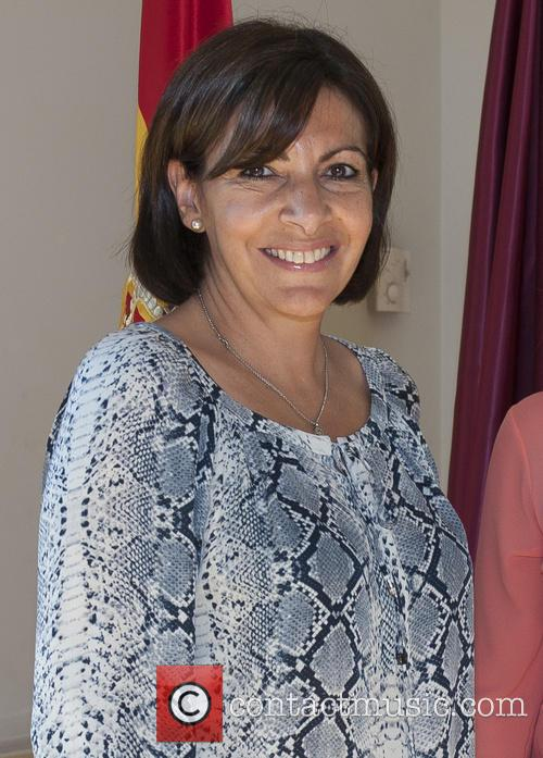 Anne Hidalgo meets with Ana Botella