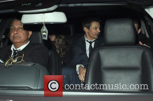 jeremy renner chris evans celebrities visit chiltern firehouse 4279474