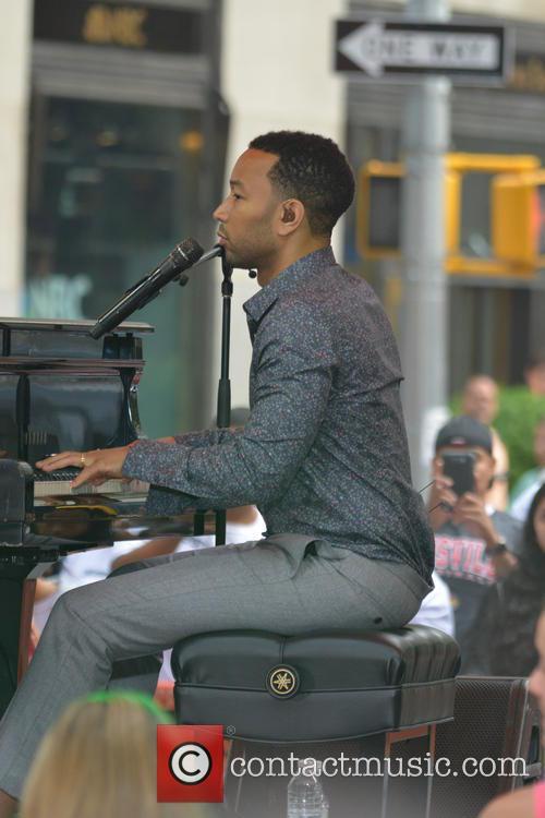 John Legend in concert