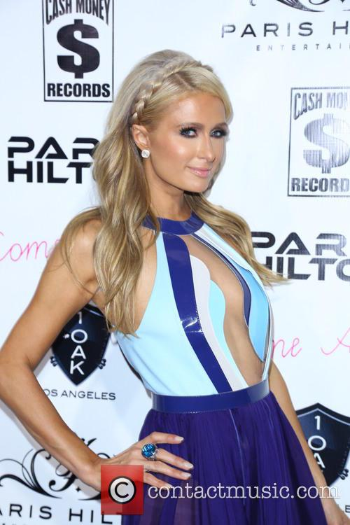 Paris Hilton's Single Release Party