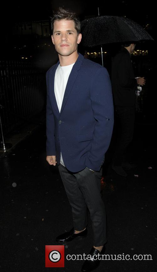 Brent Kinsman arriving at the Lancome Party