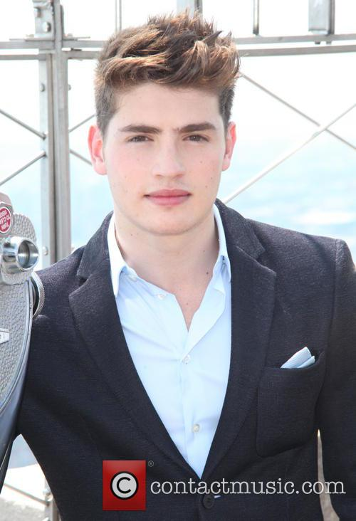 Gregg Sulkin visits the Empire State Building