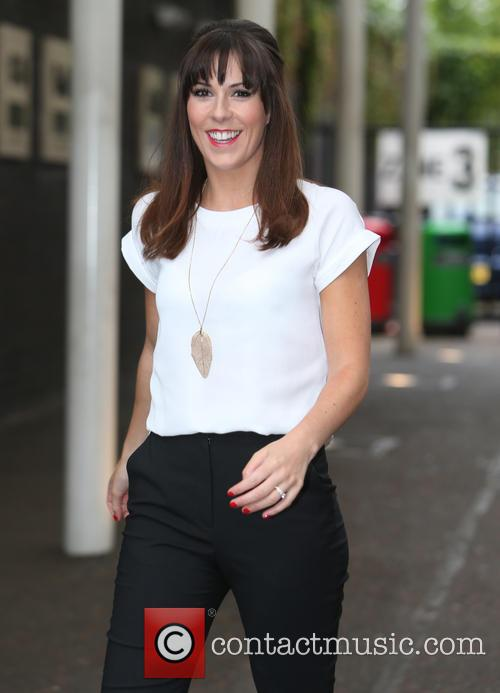 verity rushworth celebrities at the itv studios 4278481