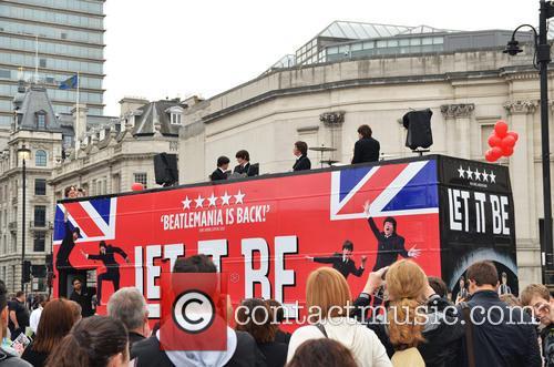 'Let It Be' Photocall - Trafalgar Square