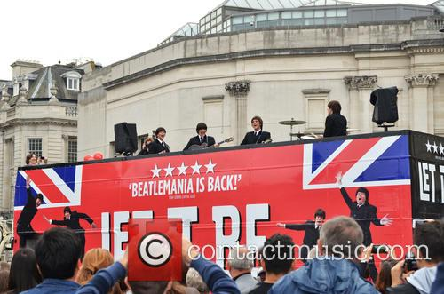 'Let It Be' Photocall - Trafalgar Square