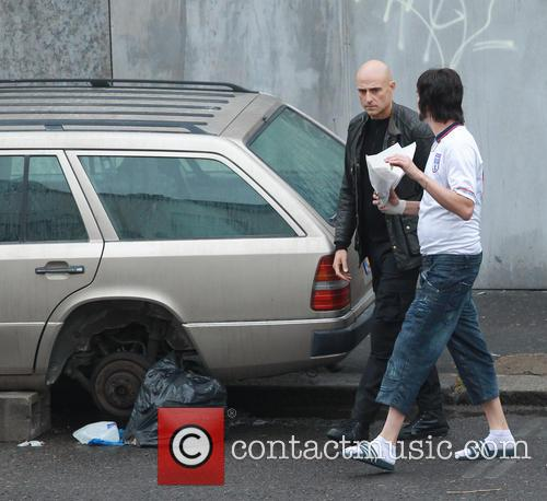 Sacha Baron Cohen and Mark Strong 4