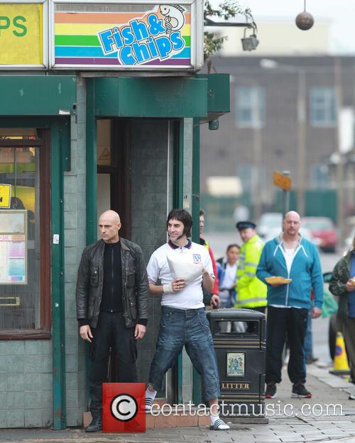 Sacha Baron Cohen and Mark Strong 6