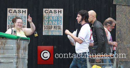 Sacha Baron Cohen and Mark Strong 7
