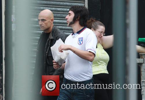 Sacha Baron Cohen and Mark Strong 8