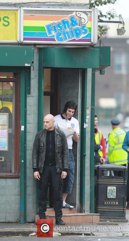 Sacha Baron Cohen and Mark Strong 17