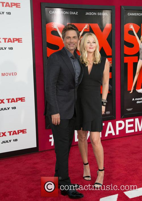 Rob Lowe and Sheryl Berkoff 8
