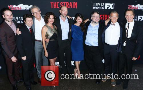 Guillermo Del Toro, Sean Astin, Carlton Cuse, Natalie Brown, Corey Stoll, Mia Maestro, Drew Nelson, Richard Sammel and Jonathan Hyde