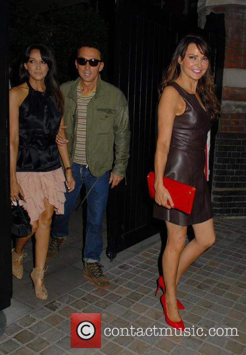 Celebrities outside Chiltern Firehouse