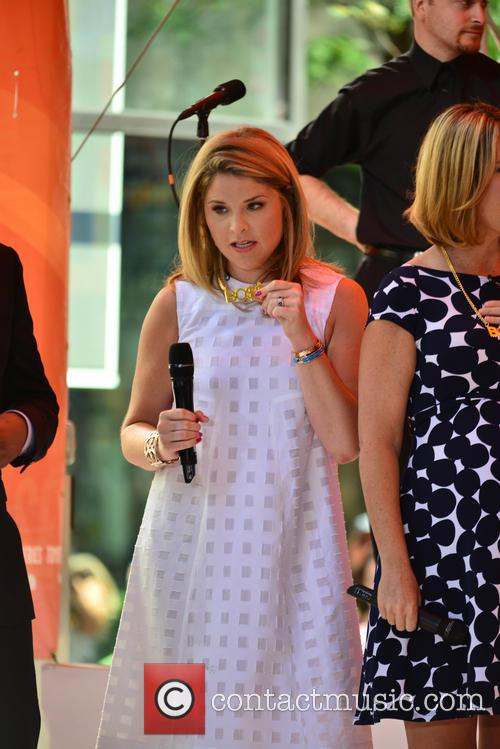 Jenna Bush appears on 'The Today Show'