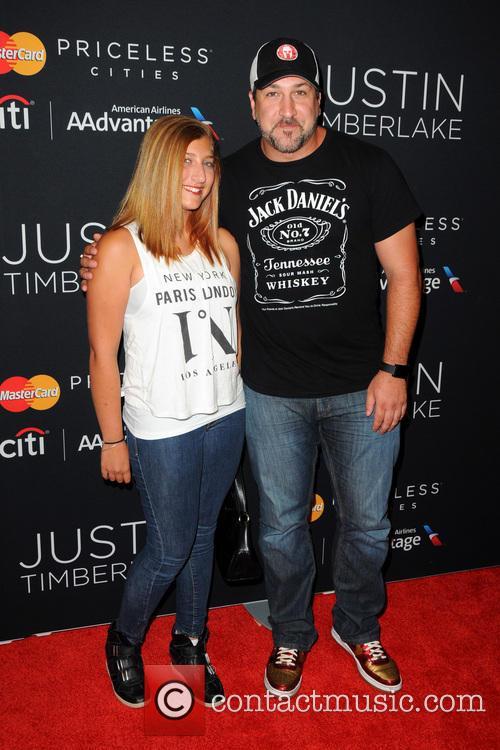 Briahna Joely Fatone and Joey Fatone 1