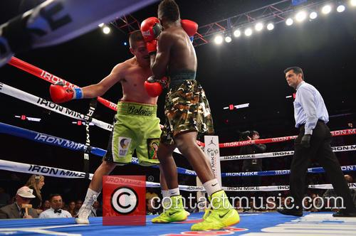 'Judgment Day' boxing event at American Airlines Arena