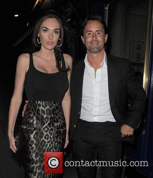 Tamara Ecclestone and her husband Jay Rutland leave...