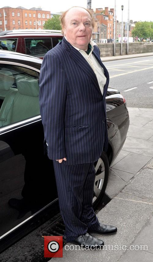 Van Morrison leaving the Clarence Hotel