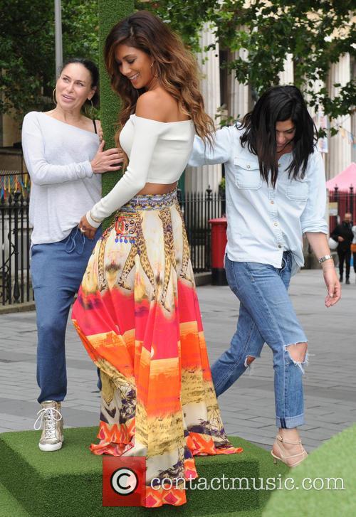 Nicole Scherzinger attends a photocall in London