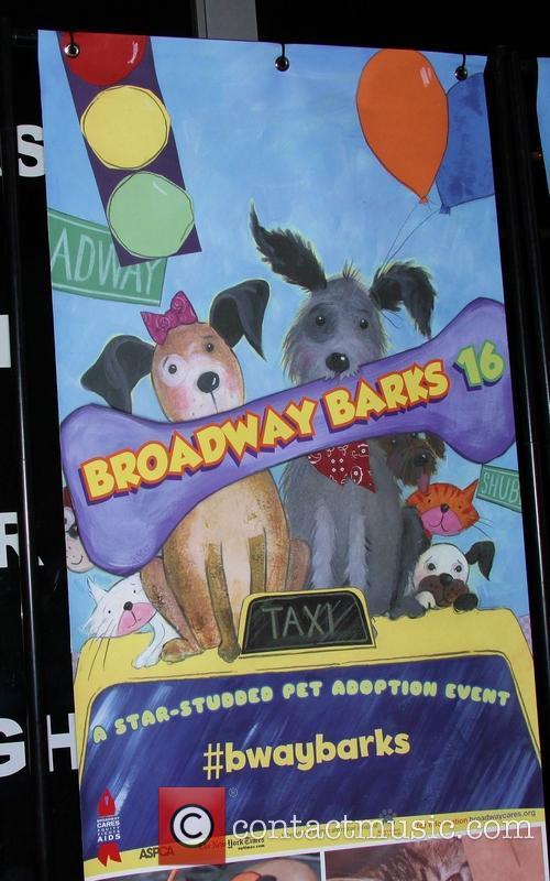 16th Annual 'Broadway Barks' held in Shubert Alley