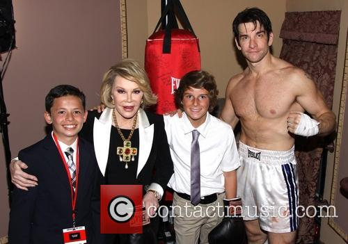 Ben Moody, Joan Rivers, Cooper Endicott and Andy Karl