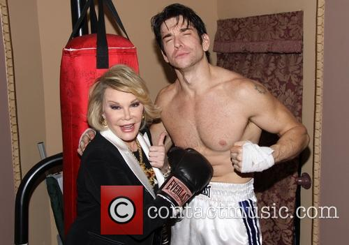Joan Rivers and Andy Karl 3