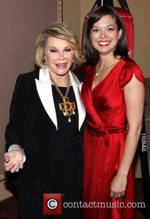 Joan Rivers and Margo Seibert 2