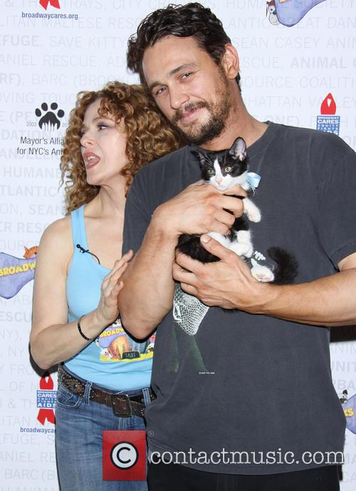 Bernadette Peters, James Franco, Shubert Alley,