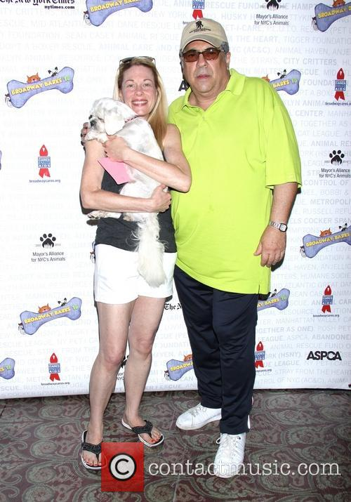 Marin Mazzie and Vincent Pastore 1