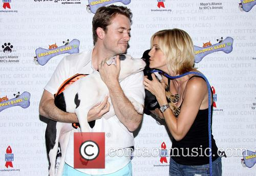 James Snyder and Jenn Colella