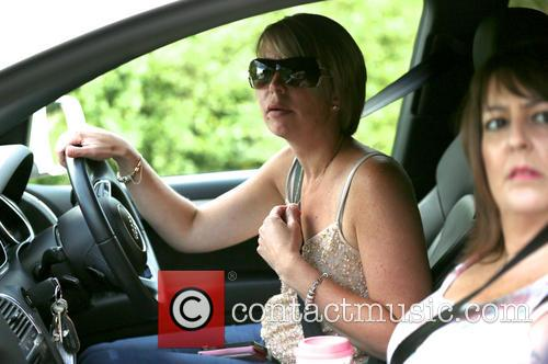 Katie Price, Joanna Behind Wheel and Colleague From The 4d Baby Scan Team 4