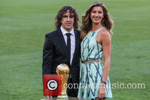 Carles Puyol and Gisele Bündchen