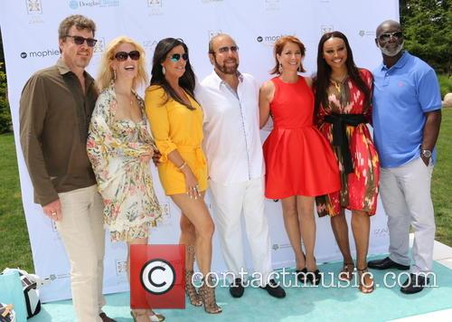 Simon Van Kampen, Alex Mccord, Patti Stanger, Bobby Zarin, Jill Zarin, Cynthia Bailey and Peter Thomas