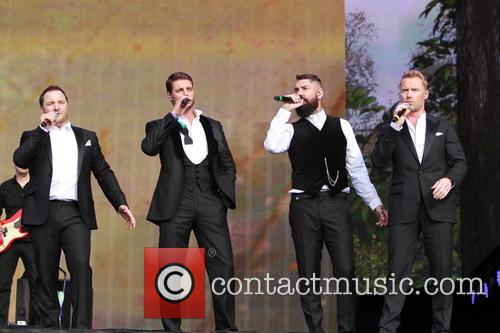 Boyzone, Keith Duffy, Mikey Graham, Ronan Keating and Shane Lynch 3