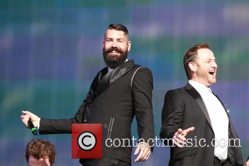 Boyzone, Mikey Graham and Shane Lynch 10