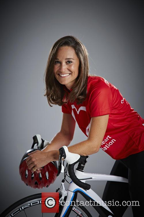 Pippa Middleton launches BHF bike ride