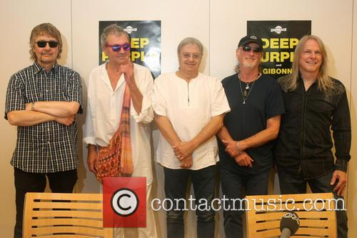 Don Airey, Ian Paice, Roger Glover, Steve Morse and Deep Purple 2