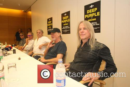 Don Airey, Ian Paice, Roger Glover, Steve Morse and Deep Purple 5