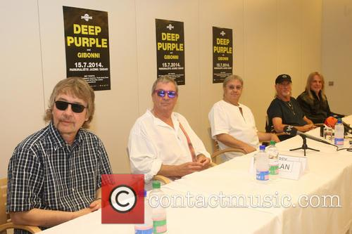 Don Airey, Ian Paice, Roger Glover, Steve Morse and Deep Purple 6
