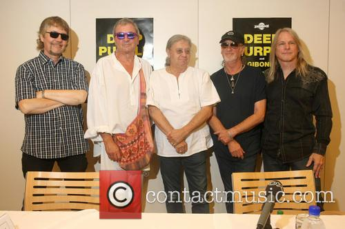 Don Airey, Ian Paice, Roger Glover, Steve Morse and Deep Purple 7