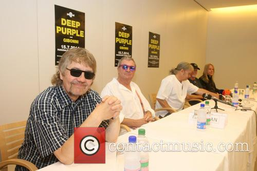 Don Airey, Ian Paice, Roger Glover, Steve Morse and Deep Purple 8
