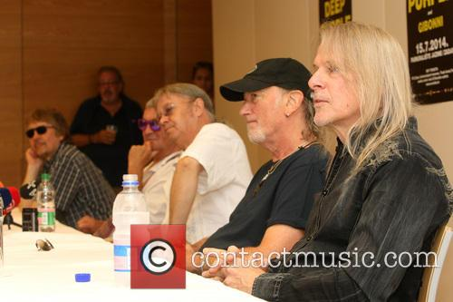 Don Airey, Ian Paice, Roger Glover, Steve Morse and Deep Purple 9